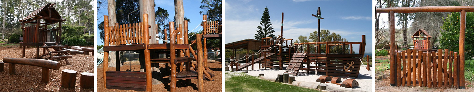A Selection of playground infrastructure
